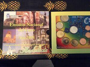 EURO ESPAGNE ANNEE 2008.QUALITE B.U  BLISTER NEUF COFFRET Andaloucia