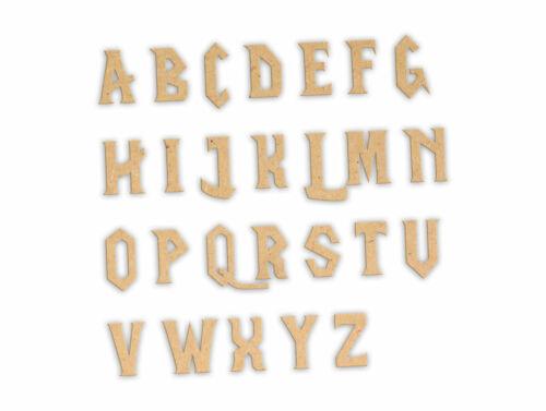 """4 completa alfabetos de madera con 50 extra vocales /""""Craft la guerra/"""" Wow"""