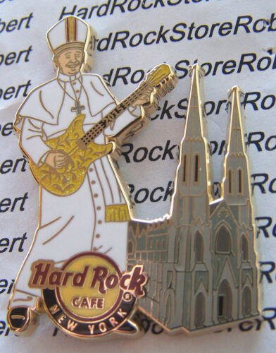 2015 HARD ROCK CAFE NEW YORK CITY POPE'S VISIT/ST. PATRICKS CATHEDRAL LE PIN