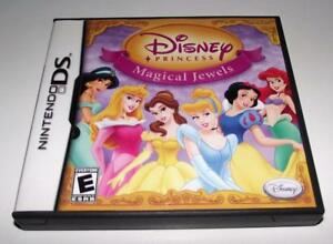 Disney Princess Magical Jewels Nintendo DS 2DS 3DS Game *Complete*