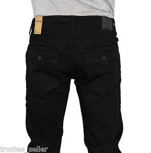 NWT True Religion Brand Men's Ricky Straight Leg Midnight black ...