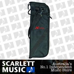 Xtreme-CTB-15-Padded-Drumstick-Bag-Brand-New-Drum-Stick-Bag-Black