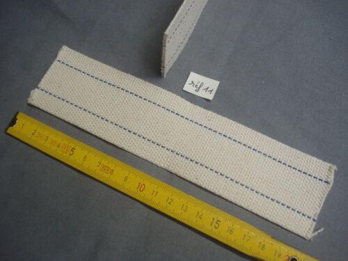 1 mèche plate lampe pétrole 48 mm par 200 mm réf 11 calibre 10 /'/'/'