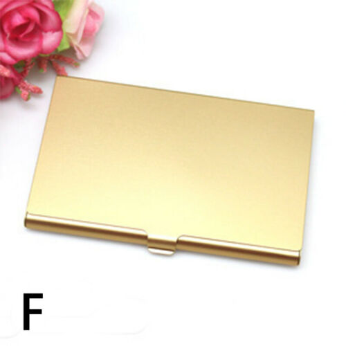 Stainless Steel Business ID Credit Card Name Holder Wallet Pocket Box Case Gift