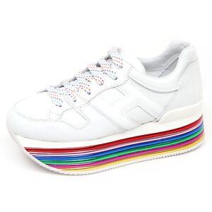 Details about E9022 Womens Sneakers White Hogan h352 Shoes H Great shoe woman show original title