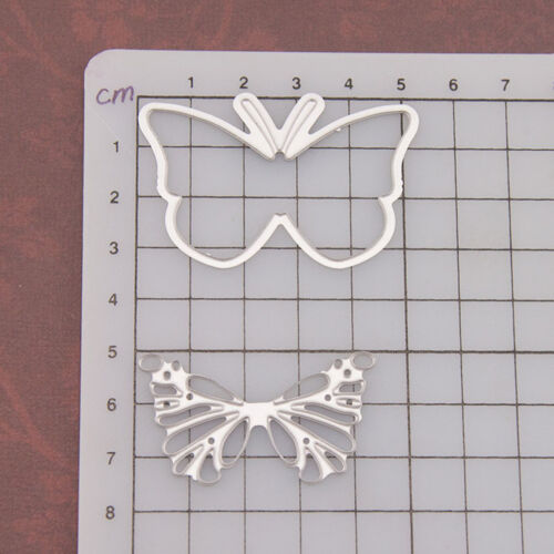 Butterfly Metal Cutting Die mold Scrapbooking Paper Card Embossing Craft FBB