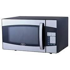 Ft 900 Watt Digital Microwave Oven Black Stainless Steel