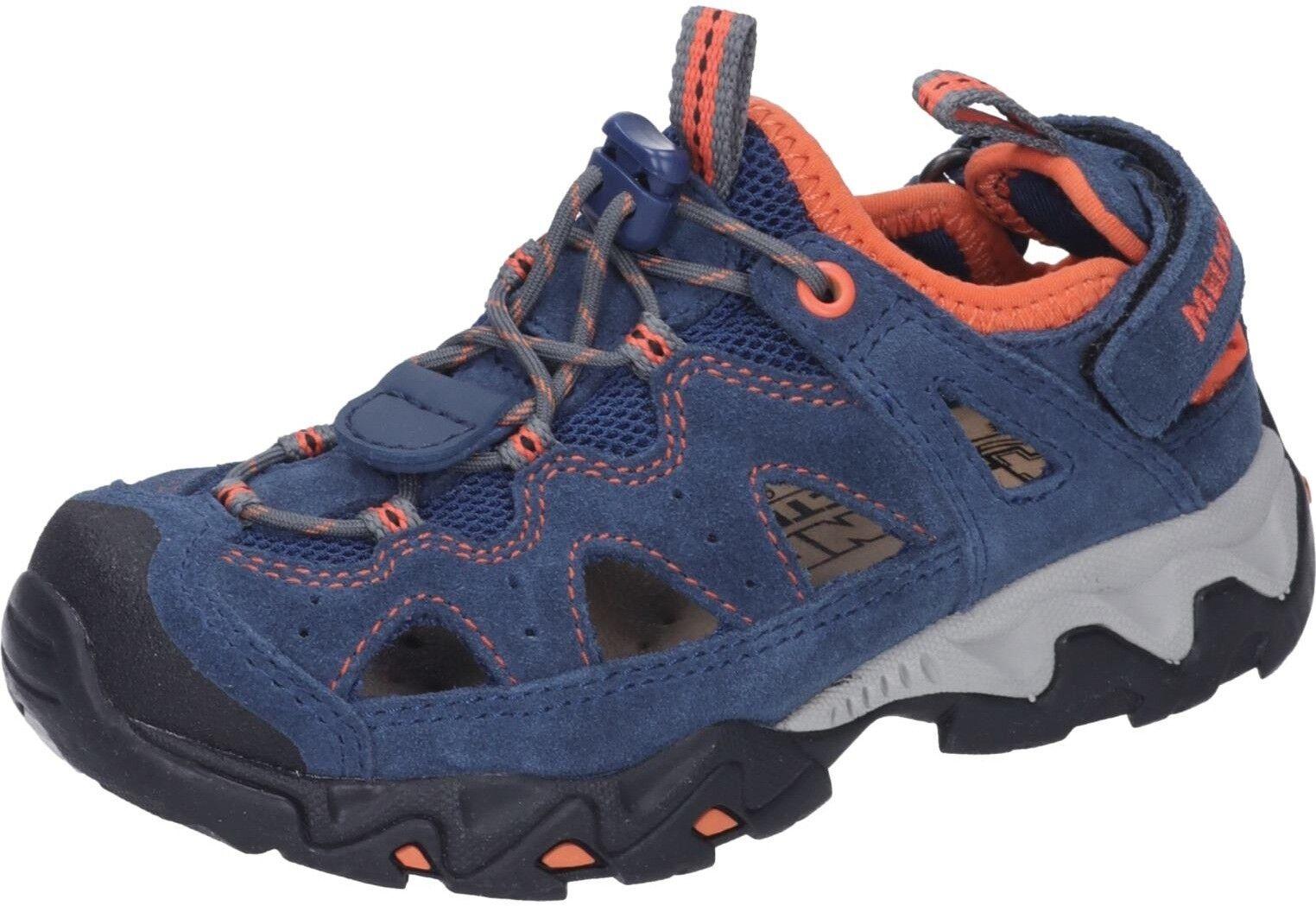 Meindl-Kinder Kinder Schuhe Rudy Junior blau Veloursleder NEU