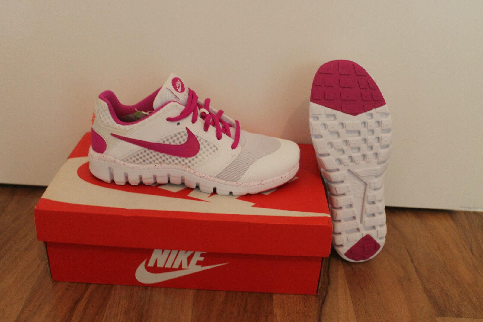 Nike Flex Supreme Zapatillas Zapatillas Zapatillas Deportivas de Mujer Zapato blancoo púrpura Talla 38,5;  venta