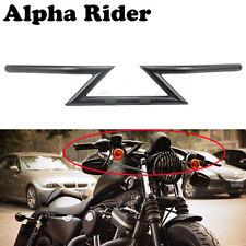 """Motorcycle 1"""" Drag Handlebars Z Bars for Harley Cruiser Custom Touring Chopper"""