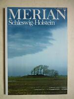 Reisemagazin MERIAN. SCHLESWIG-HOLSTEIN    Heft 12 /1985   38.Jahrgang