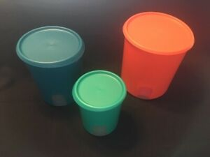 CLEARANCE! NEW Tupperware One Touch Reminder Canister A