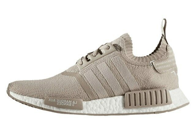 Adidas NMD / R1 Primeknit French Beige / NMD Vapour Grey Beige US 8.5 EUR 42 a96e5f