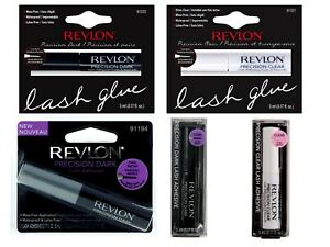4f16208c6da New Revlon Precision Eyelash Glue Brush On Lash Adhesive Clear ...