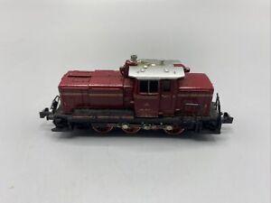 Modelleisenbahn Minitrix N Diesellok BR 261 262-6 DB Defekt