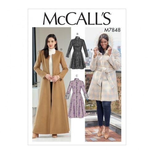 FP McCalls-7848-M McCalls Sewing Pattern 7848 Free UK P/&P