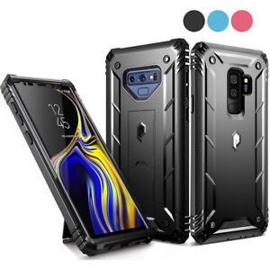 For-Galaxy-Note-9-S9-S9-Case-Poetic-034-Shockproof-034-Dual-Layer-Kickstand-Cover