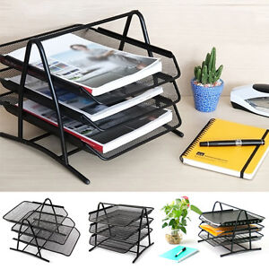 Image Is Loading Office Filing Trays Holder A4 Doent Letter Paper