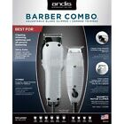 ANDIS BARBER COMBO #66325 Heavy Duty Clipper & T-Outliner Trimmer Pro Combo Kit