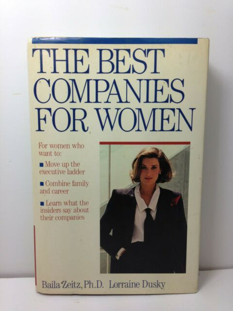 The BEST COMPANIES FOR WOMEN HARDBACK - DUST JACKET