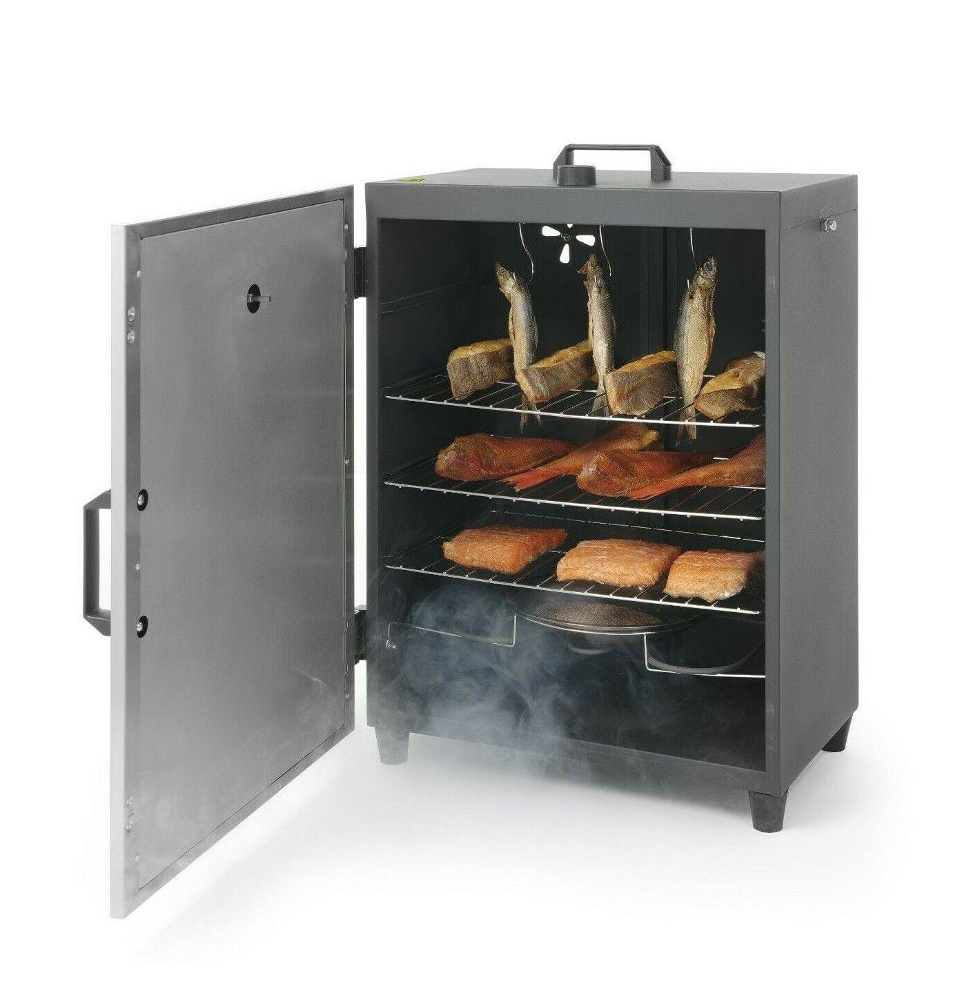 Hendi räucherofen elettricamente räucherschrank ristoranti affumiautoe forno in acciaio inox