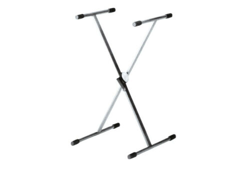 AMP 39 Inch Keyboard stand double braced with linear hand lever lock KS513B