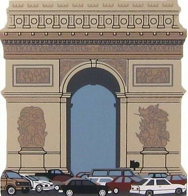 Cat's Meow Village Arc De Triomphe Paris France #01-952 NEW Shipping Discounts