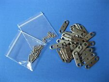 (Pack of 30) Stop Motion Puppet Armature Joint Plates with 15 x nuts and bolts