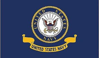 2x3 US Navy Seal Crest Flag Premium Navy Banner Grommets FAST SHIPPING