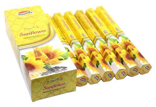 Govinda Sunflower Best Sellers 120 Incense Sticks Free Shipping