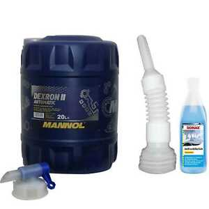 20L-mannol-Fluido-per-Cambio-Automatico-Dexron-II-Gear-Incl-Rubinetto