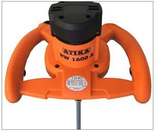 Ruehrgeraet-Atika-Moertel-Quirl-Handruehrwerk-Ruehrwerk-RW-1600-mit-2-Gang-Getriebe