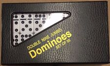 Jumbo Double Nine Dominoes w/ Spinners