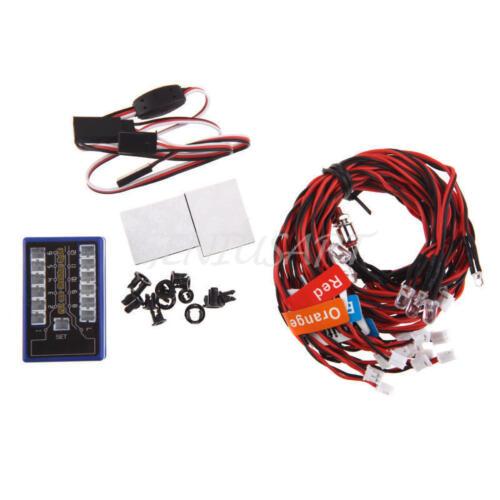 RC Led Light Kit For Tamiya TT01 TT01E TT01D TT02 TT02D M05 M06 TL01