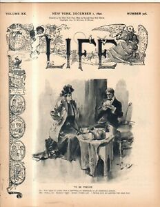 1892-Life-December-8-William-W-Astor-false-rumors-Carnegie-founded-Music-Hall