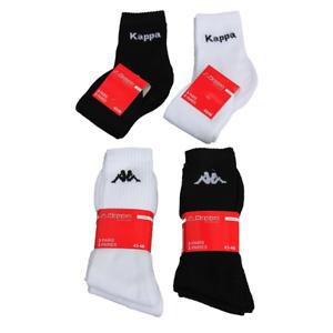 Kappa 3 bis 12 Paar Sportsocken Sneaker Tennis Freizeit Strümpfe