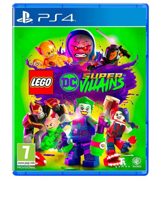 Lego DC Super Villains PS4 NEW DISPATCHING TODAY ALL ORDERS PLACED BY 2 P.M.