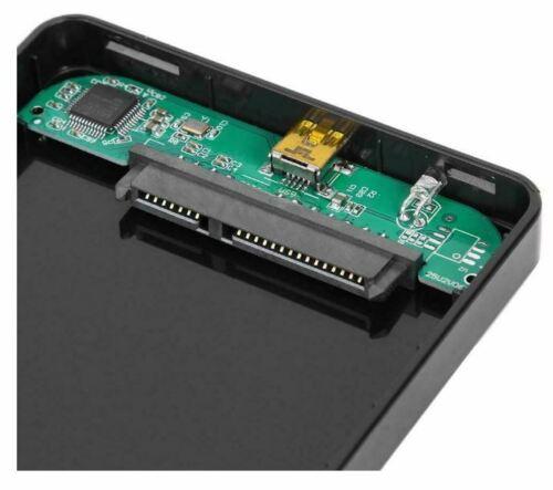 2.5 inch Hard Drive Box SATA USB2.0 HDD Case External Hard Disk Enclosure H1