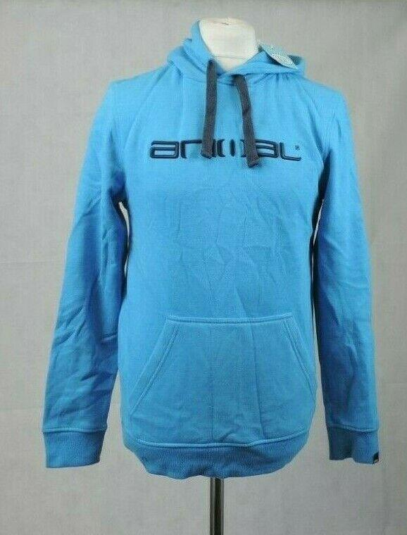 Animal Mens Luna Snorkel Blue Marl Hoodie Size S rrp CR009 CC 04
