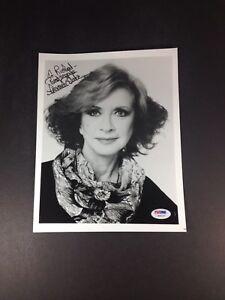 Details about Amanda Blake Miss Kitty Gunsmoke Rare Autograph 8X10 Photo  PSA Grade 10 Gem-Mint