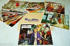 WILLY WONKA  and the Chocolate Factory ! rare jeu photos cinema  lobby card 1971