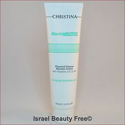 Christina Elastin Collagen Placental Enzyme Cream for Oily /combination skin