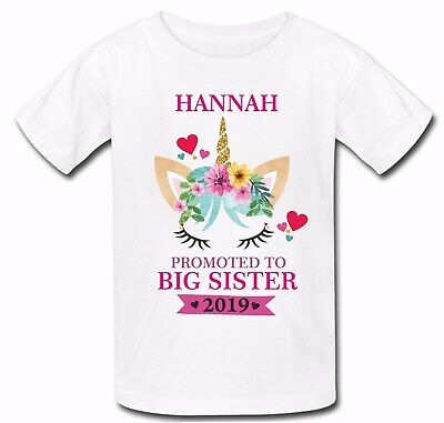 PERSONALISED BIG SISTER FULL COLOR SUBLIMATION T SHIRT