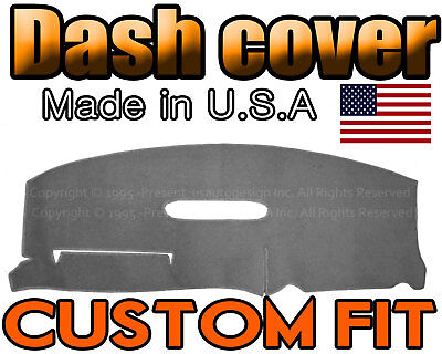 Fits Dodge Caravan 1996-2000 Carpet Dash Board Cover Mat Grey