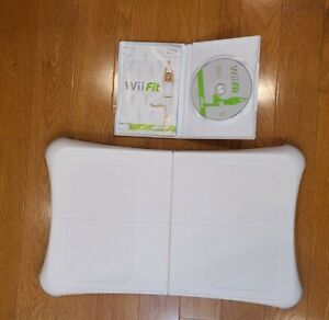 Wii Fit Balance board, yoga, exercise home workout, with WII FIT game nintendo