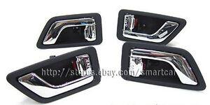 4pcs Door Inside Handle for 2007 2008 2009 2010 2011 2012 Hyundai Santa Fe