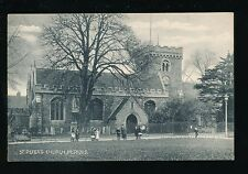 Beds Bedfordshire BEDFORD religion St Peter's Church local children 1914 PPC