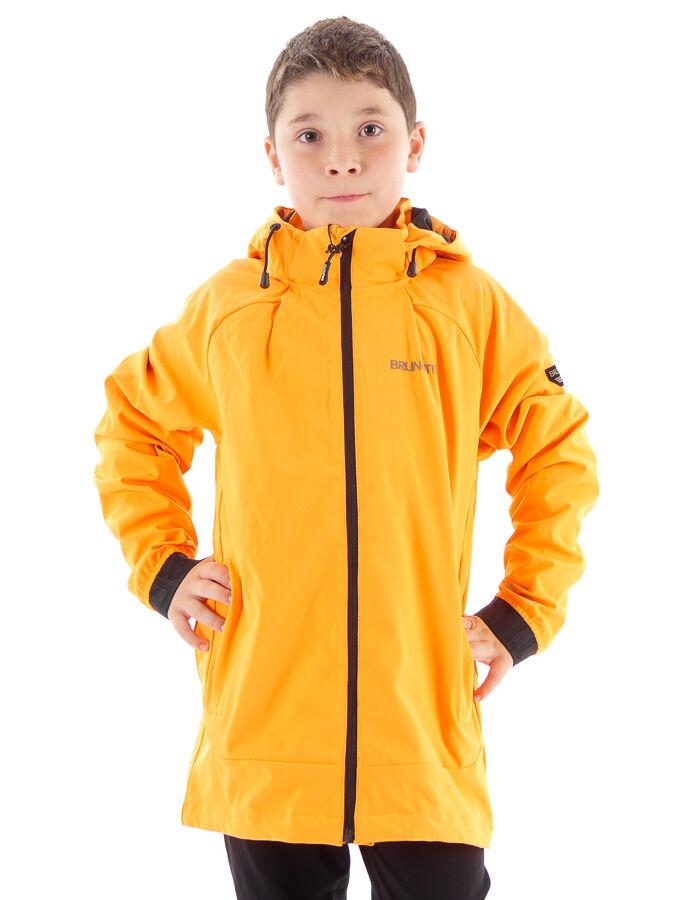 Brunotti Veste fonctionnelle Veste Softshell Veste Maida Orange Coupe-Vent Régulière
