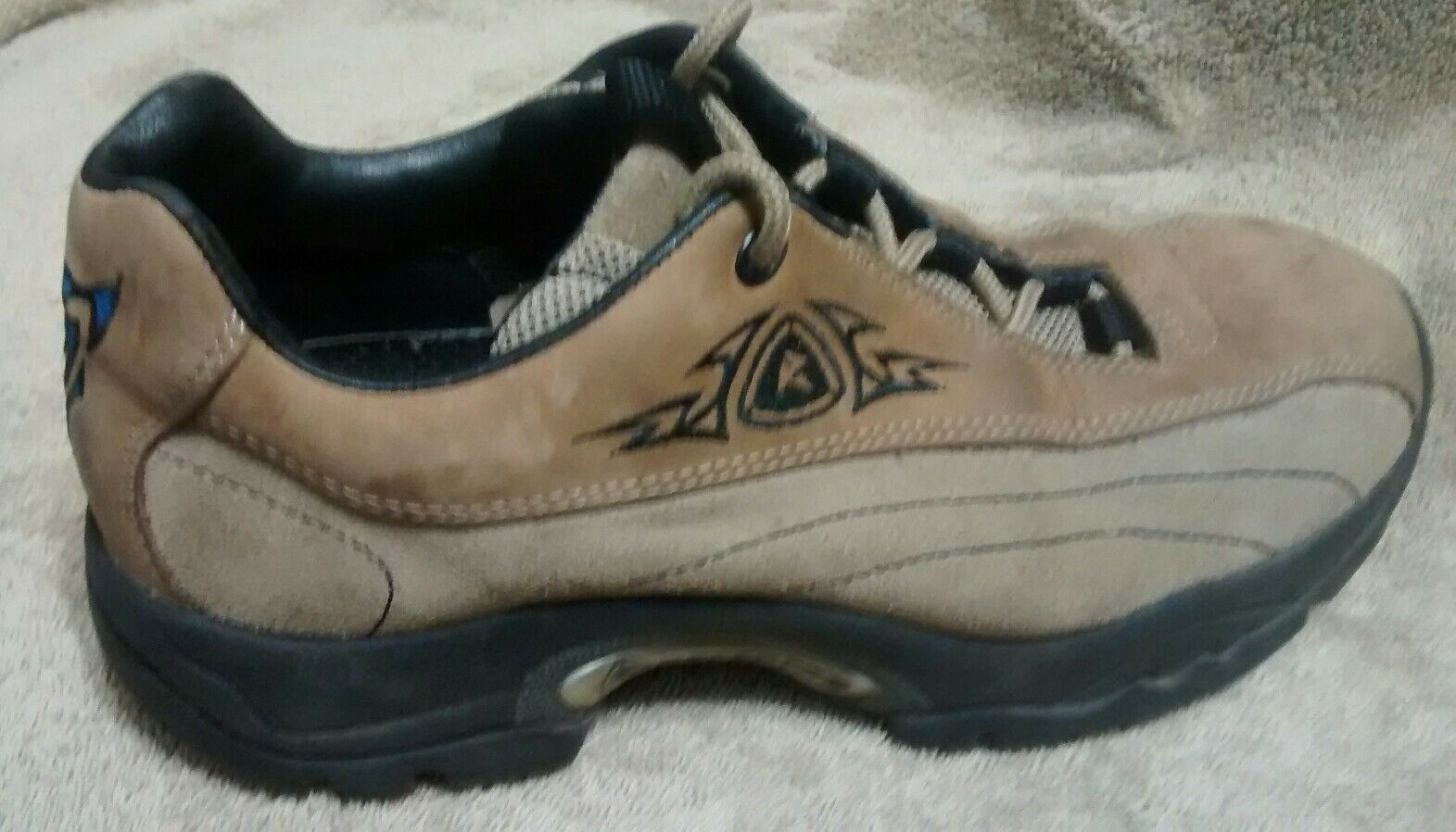 ECCO Receptor Bicycle Toe Hiking Trail shoes Women's US 5 1 2