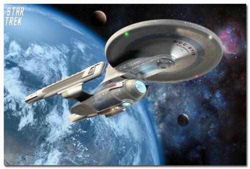 Star Trek Movie Art Silk Poster 13x20 20x30 24x36 inch USS NCC 2713